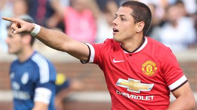Javier Hernandez: On loan from Manchester United at Real Madrid