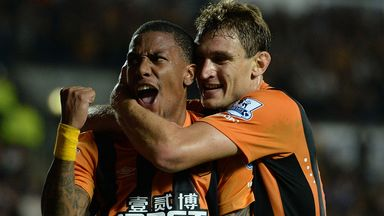 Abel Hernandez: Netted on his Premier League debut for Hull City