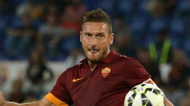 Francesco Totti: Pulled the strings for Roma