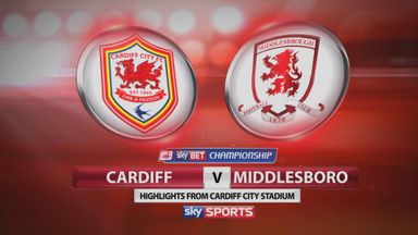 Cardiff 0-1 Middlesbrough