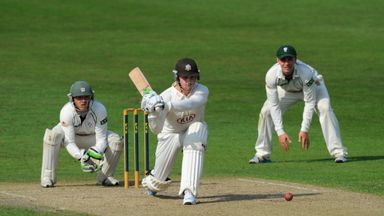 Jason Roy: Struck a century on day two as Surrey kept their slim hopes of promotion alive