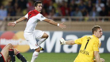 Joao Moutinho: Grabbed a late equaliser for Monaco