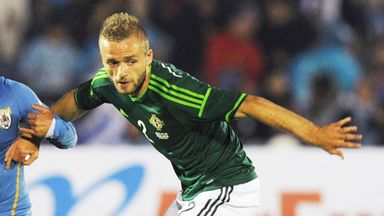 Ryan McLaughlin: Northern Ireland defender has returned to Liverpool