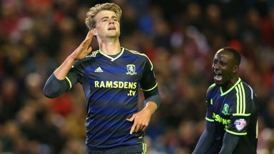 Patrick Bamford: Enjoying his football at Middlesbrough