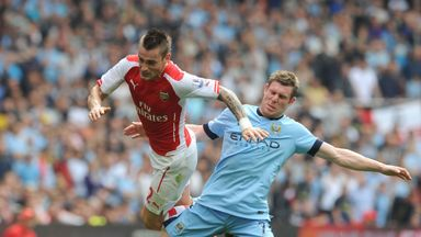 Mathieu Debuchy: Arsenal full-back was hurt in draw with Man City