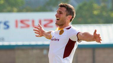 John Sutton: Motherwell striker wants further improvement