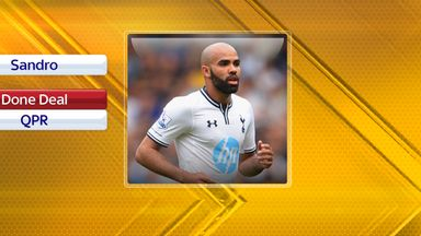 Sandro: Joined QPR from Spurs