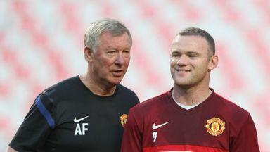 Wayne Rooney: Grateful to former Manchester United boss Sir Alex Ferguson