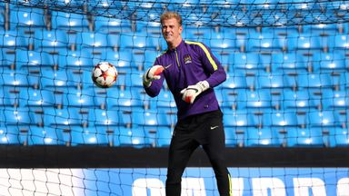 Joe Hart: Looking forward to a