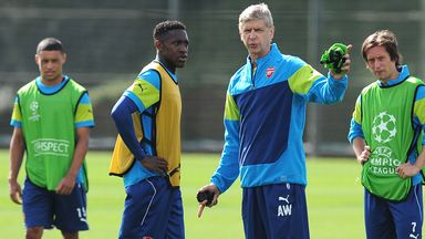 Danny Welbeck: Striker has scored five goals in 12 games for Arsenal since his £16m summer transfer from Manchester United