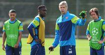 Danny Welbeck: Has impressed Arsene Wenger in training