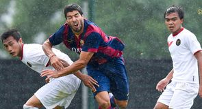 Gallery: Luis Suarez in action for Barca