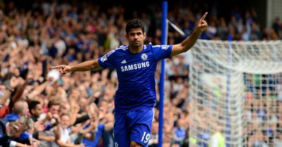 Diego Costa: Ruthless in front of goal for Chelsea