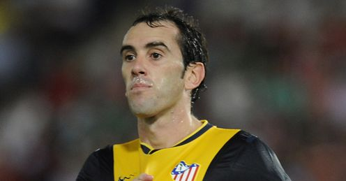 Diego Godin: Keen to stay in Madrid
