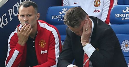 Louis van Gaal: Manchester United boss saw his side collapse