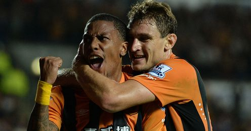 Abel Hernandez: Opened his Hull account in first-half