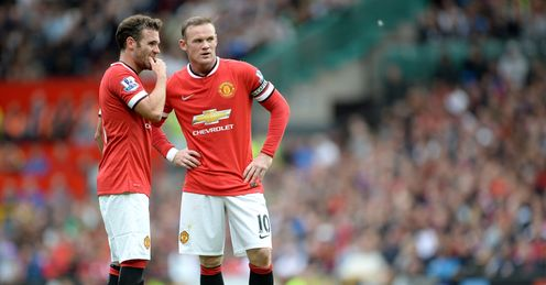 Juan Mata (left): Manchester United man has issued an apology to the club's fans