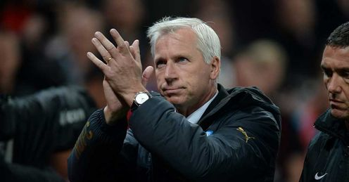 Alan Pardew: Safe as Newcastle manager for now