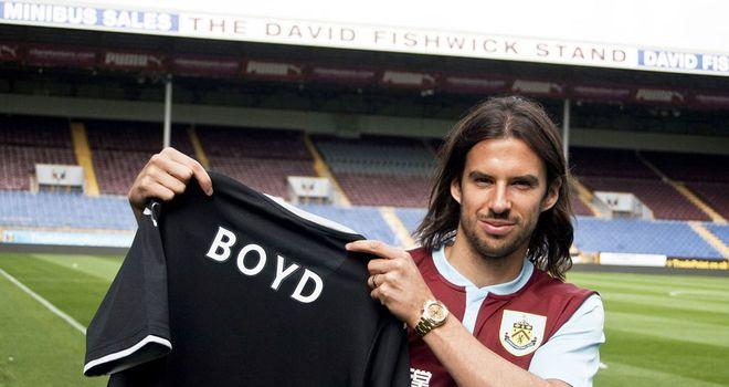 George Boyd: Three-year deal