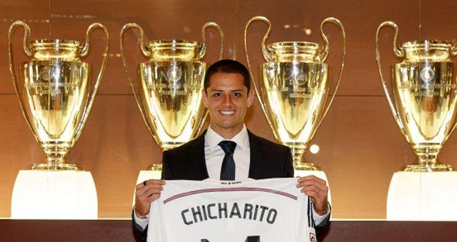 Javier Hernandez has joined Real Madrid on loan