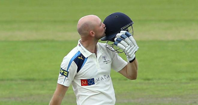Adam Lyth: made 251 for Yorkshire