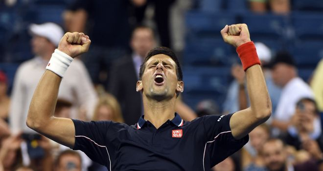 Novak Djokovic: Outlasted Andy Murray in quarter-finals of US Open in New York