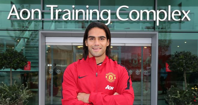 Radamel Falcao: Colombian striker joined Manchester United on transfer deadline day