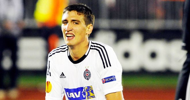 Stefan Scepovic: Serbia international striker completed his move to Celtic on Monday night
