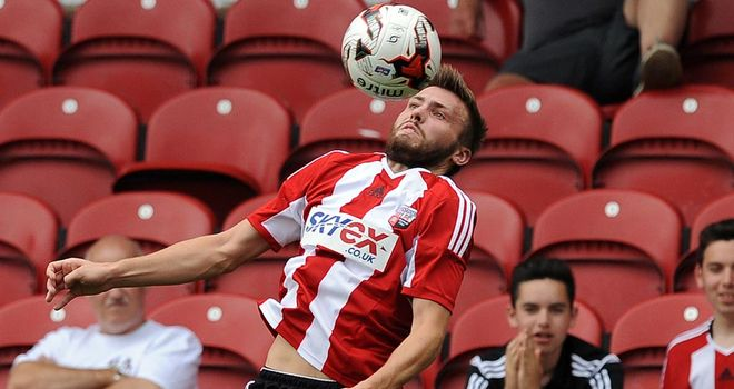 Brentford's Stuart Dallas is off to join up with the Northern Ireland squad ahead of their opening Euro 2016 qualifier