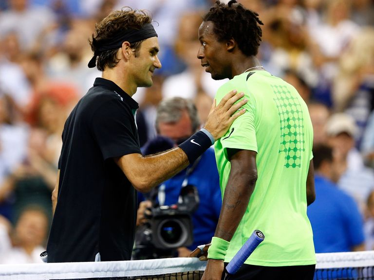 Federer and Monfils served up an epic at Flushing Meadows