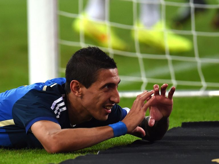 Angel Di Maria: A goal and three assists in Argentina victory