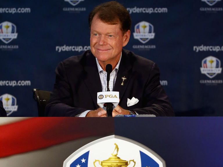 American Ryder Cup skipper Tom Watson names his wild cards
