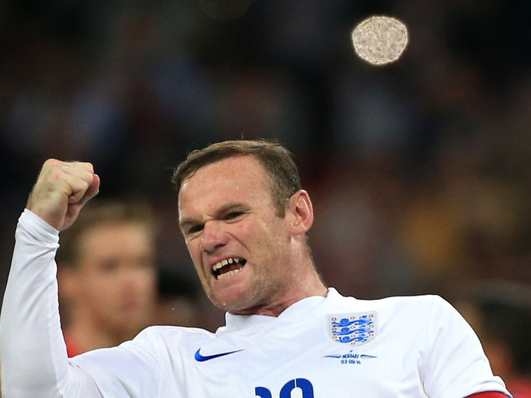 Wayne Rooney: Role model for the younger players