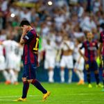 Lionel Messi: part of a disappointing night for Barcelona
