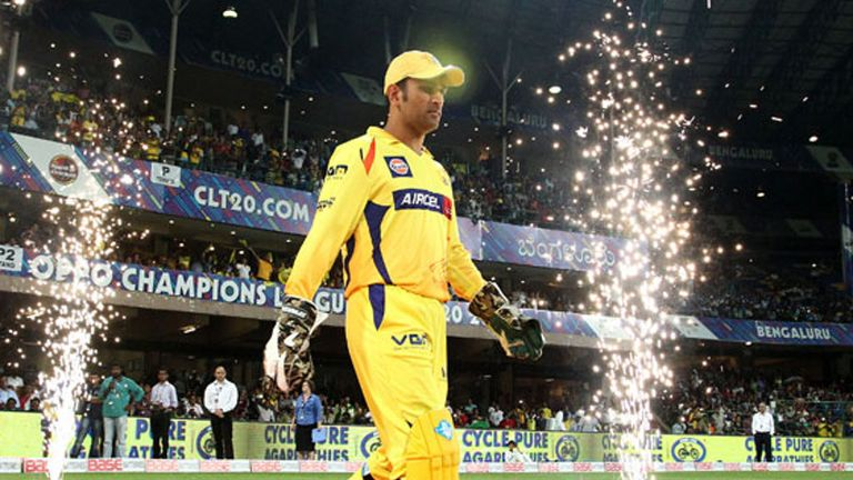 Dhoni also led Chennai Super Kings with distinction in the IPL