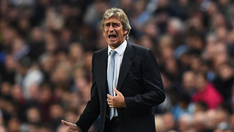Manuel Pellegrini: his side have not adapted to the Champions League yet, says Hoddle
