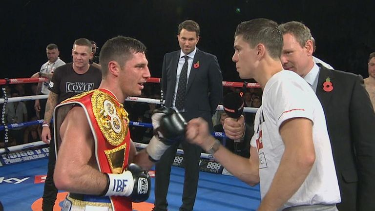 Tommy Coyle and Luke Campbell: Have agreed a summer showdown