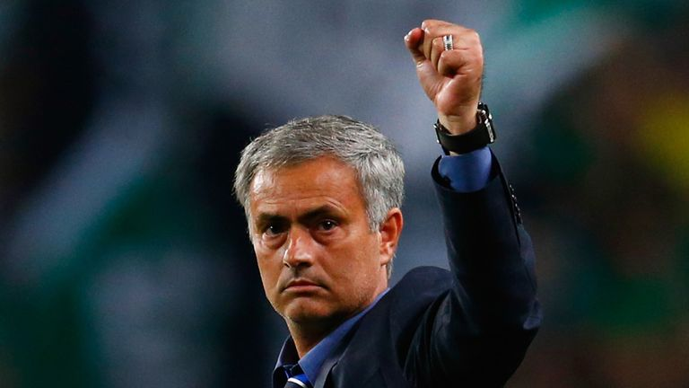 Chelsea boss Jose Mourinho happy to sign new deal ...