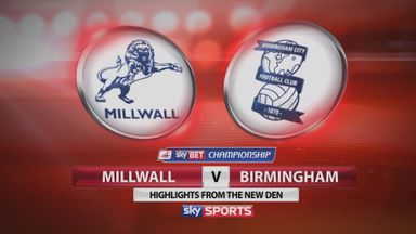 Millwall 1-3 Birmingham
