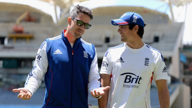 Kevin Pietersen and Alastair Cook in happier times