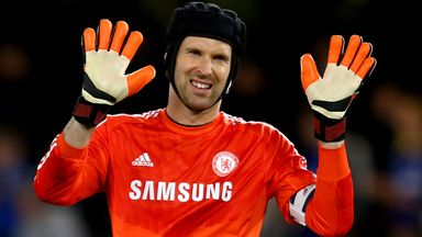 Petr Cech: Has won 12 major honours as a Chelsea player