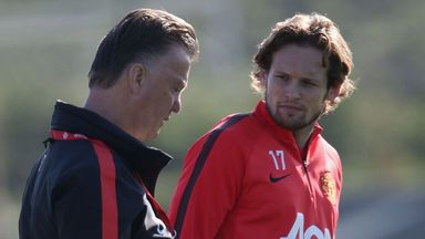 Daley Blind: Enjoying life playing under Louis van Gaal at Manchester United