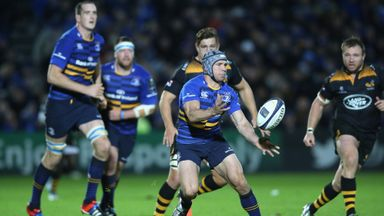 Leinster: Came from behind to beat Wasps at the RDS