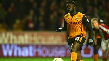 Bakary Sako: Struck the winner for Wolves