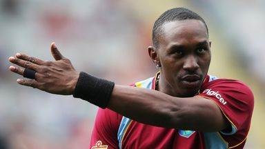 Dwayne Bravo says he is looking forward to facing South Africa next month