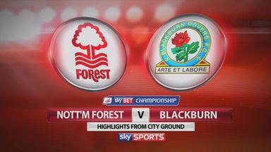 Nottingham Forest 1-3 Blackburn