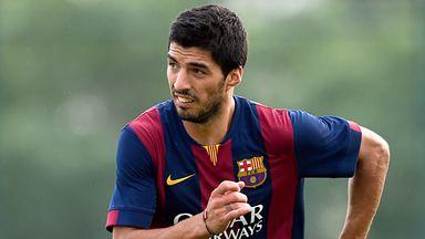 Luis Suarez: The Barcelona star set to feature in El Clasico.