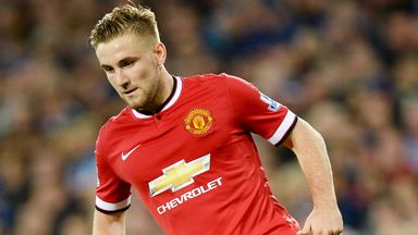 Manchester United defender Luke Shaw says his fitness is improving