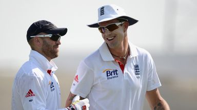 Matt Prior and Kevin Pietersen: Alongside each other in action for England