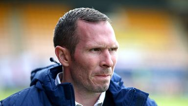Michael Appleton: Delighted with right-back's display
